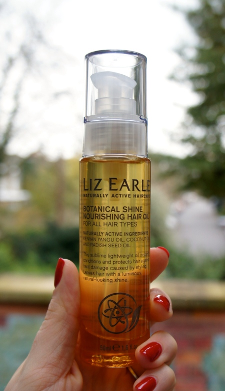 Liz Earle Botanical Shine Nourishing Hair Oil