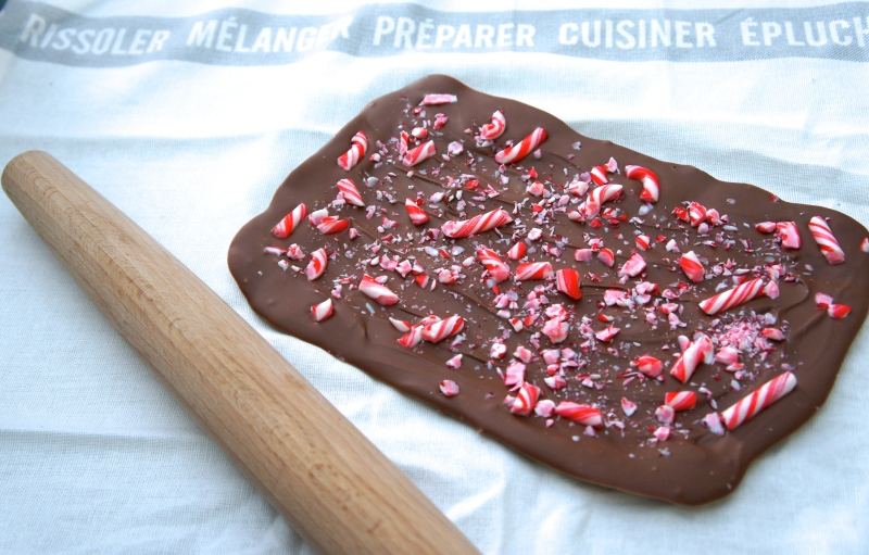 Chocolate Peppermint and Pin