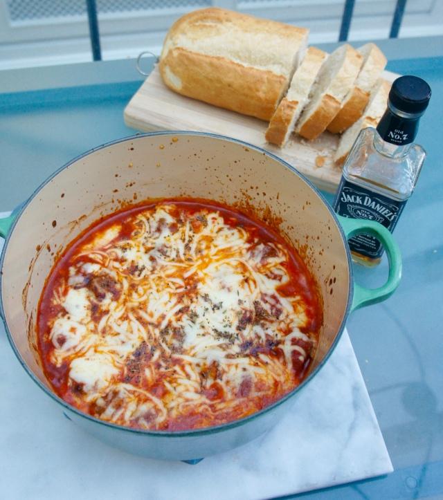 Jack Daniel's Italian Meatballs