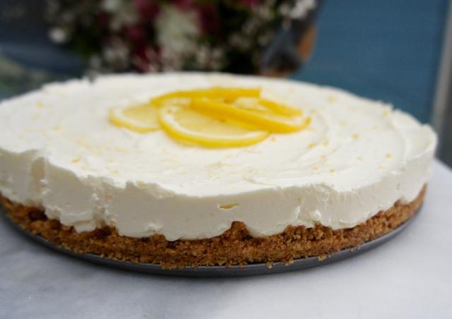 Zesty Lemon Cheesecake